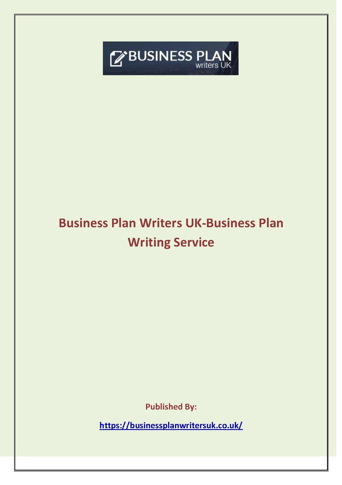 UK Business Plan Writers | Business planning service | Plan Writer Service