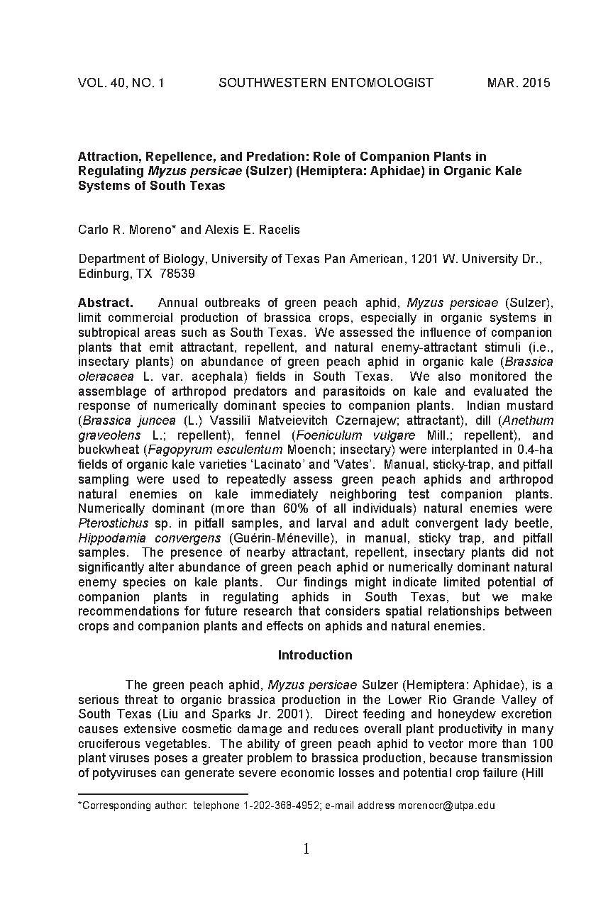 Companion_plants_organic_kale_sytem.pdf | PDF Host Companion Planting Kale