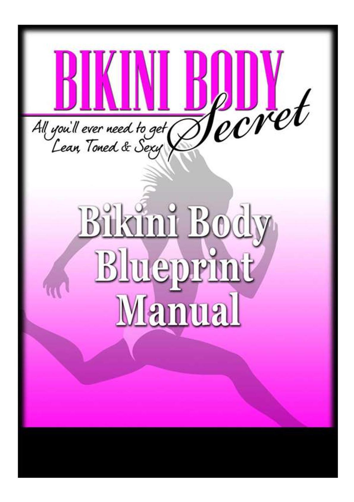 Bikini Body Workouts PDF EBook Free Download Complete Guide   PDF Host