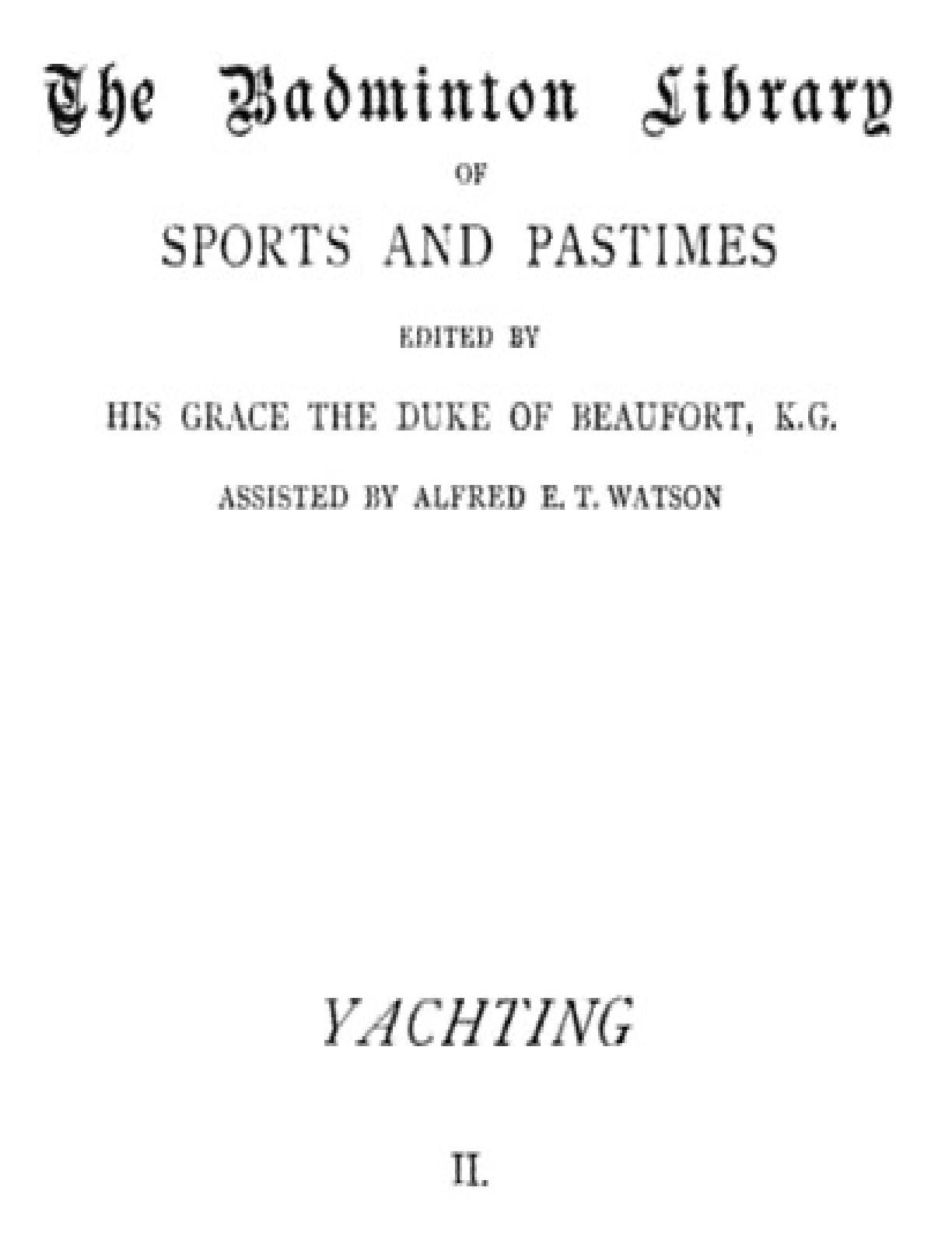 Yachting, Vol. 2   PDF Host