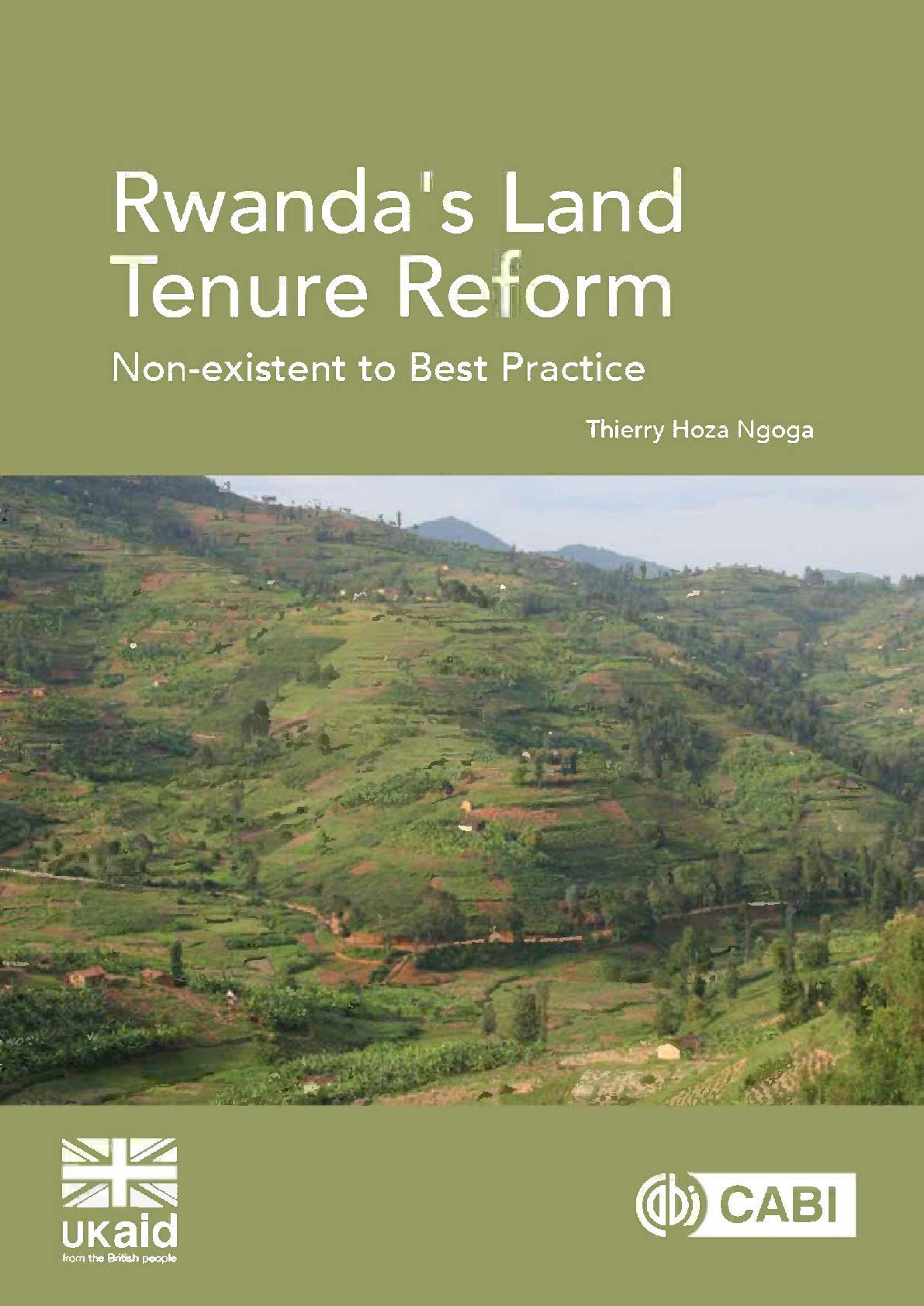 Rwanda's Land Tenure Reform | PDF Host